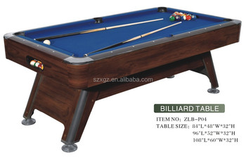 American Home Pool Table Pocket Adult Billiard Table Adjustable Small Billiard  Tables