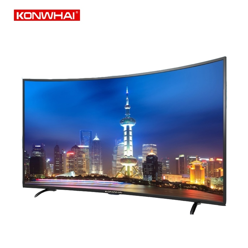 KONWHAI 43 49 50 55 65 inches LED FHD UHD curved <strong>tv</strong> 4k smart television
