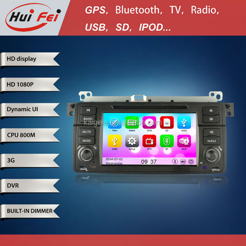 huifei Wince car radio with steering wheel control,3G,Wifi for BMW 3 Series:2002 to 2006-E46
