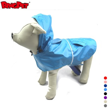 Hot Wholesale Custom Made Polka PVC Waterproof Dog Rain Coat