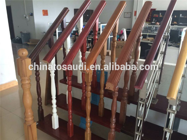 China Interior Wood Stairs Wood Stair Design Stairs Grill Design