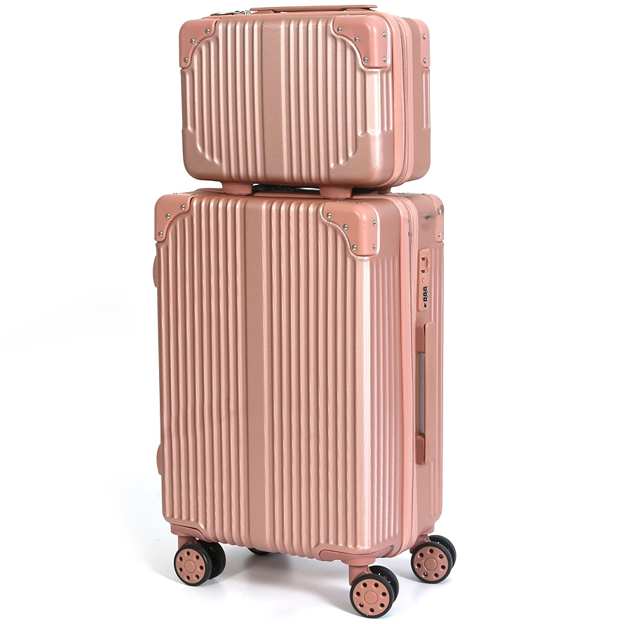 popular <strong>ABS</strong> 4PCS 14 20 24 28 inch 4 wheel travelling bags luggage set
