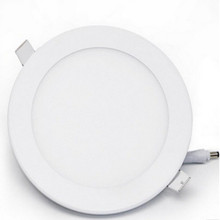 Round 9W SMD LED Recessed Ceiling Panel Down Light Bulb Lamp 145*20mm