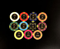 The Latest Version 14g Casino Professional Clay Customized Poker Chips