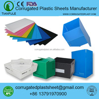 Selling Corrugated Coroplast Collapsible Plastic Pallet Box for Logistics Use