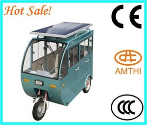 cheap electric solar car for philippines/Pakistan market tricycle passengers, solar electric vehicle, solar car for sale