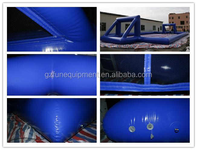 Good Design Inflatable Soccer Arena Inflatable Soap Football Field for Jousting Sports Game