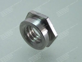 Self Retaining Flush Hex Nut Buy Fasteners Sleeve Nuts