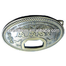 Belt buckle with bottle opener