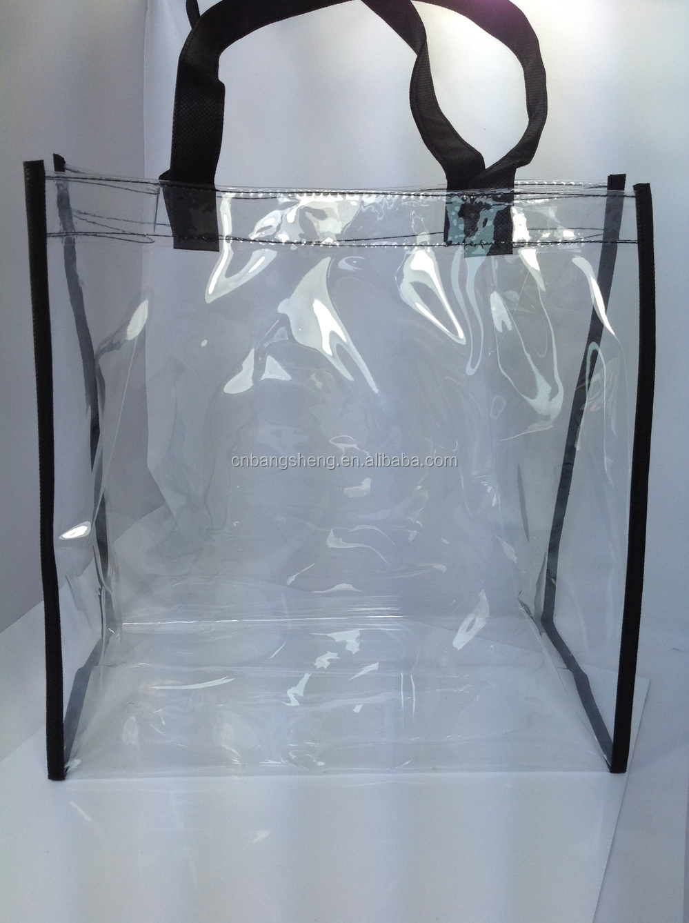Transparent Clear Plastic Carry Bags,Pvc Shopping Bag ...