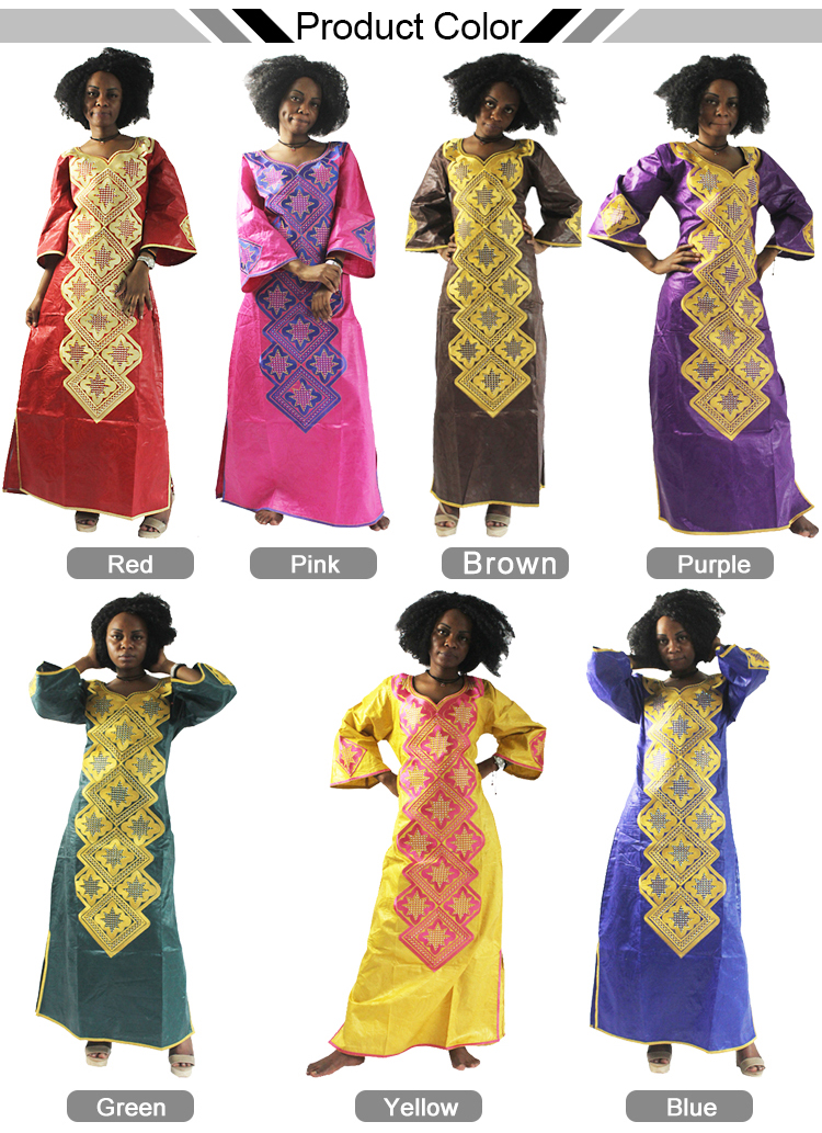 H & D Top10 Ladies Traditional Clothes Dress African American Clothing Manufacturer For Wholesale