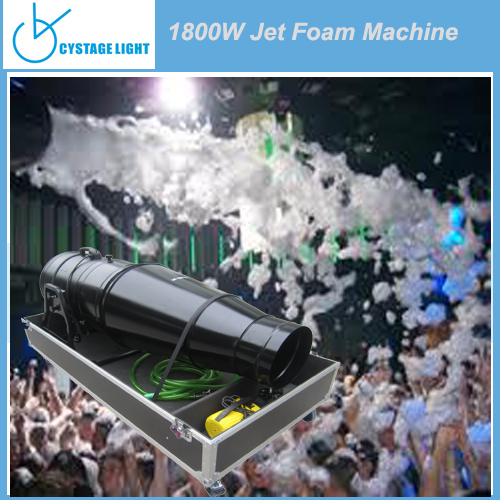 CYSTAGELIGHT Party Entertainment 1800W Jet Foam Cannon, Foam Machine