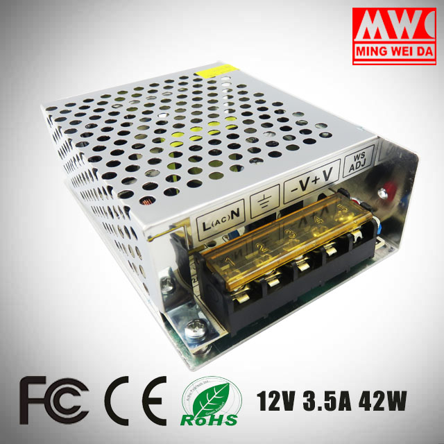 Hot sale single output 42W 12V 3.5A lcd tv power supply board