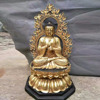 buddhism theme large gold plated buddha statues for sale