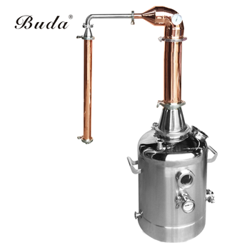 150L vodka distillation ,home alcohol copper distiller equipment