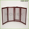 4 Panel Design Durable Wood Portable Dog Fence Homex_BSCI Factory