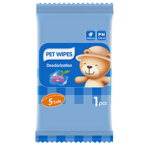 OEM Dog Grooming Baths Sale Wipes Anti Bacteriale