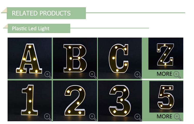 Hot sale wedding decorations night wall light table lamp for party