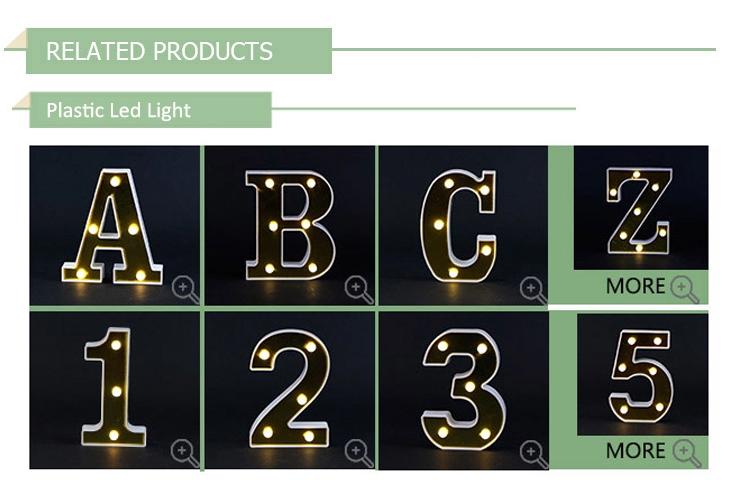 Giao hàng nhanh marquee đèn tín hiệu ban đêm dải Tiếng Anh thư trang trí cửa hàng đèn led trang trí cổ điển đối với đảng