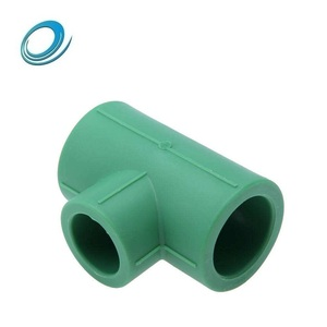 Water supply plumbing materials plastic ppr pipe fitting reducing tee