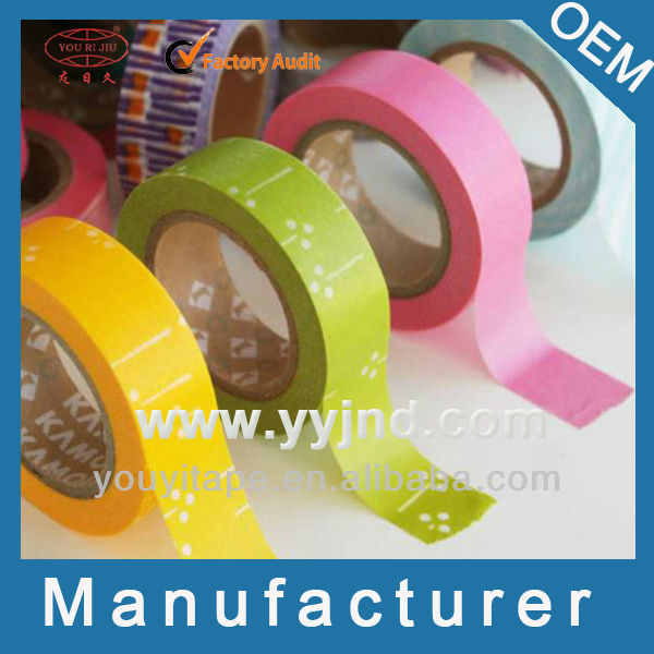 Youri jiu Factory Decoration Brown Color Tape (YY-9851)