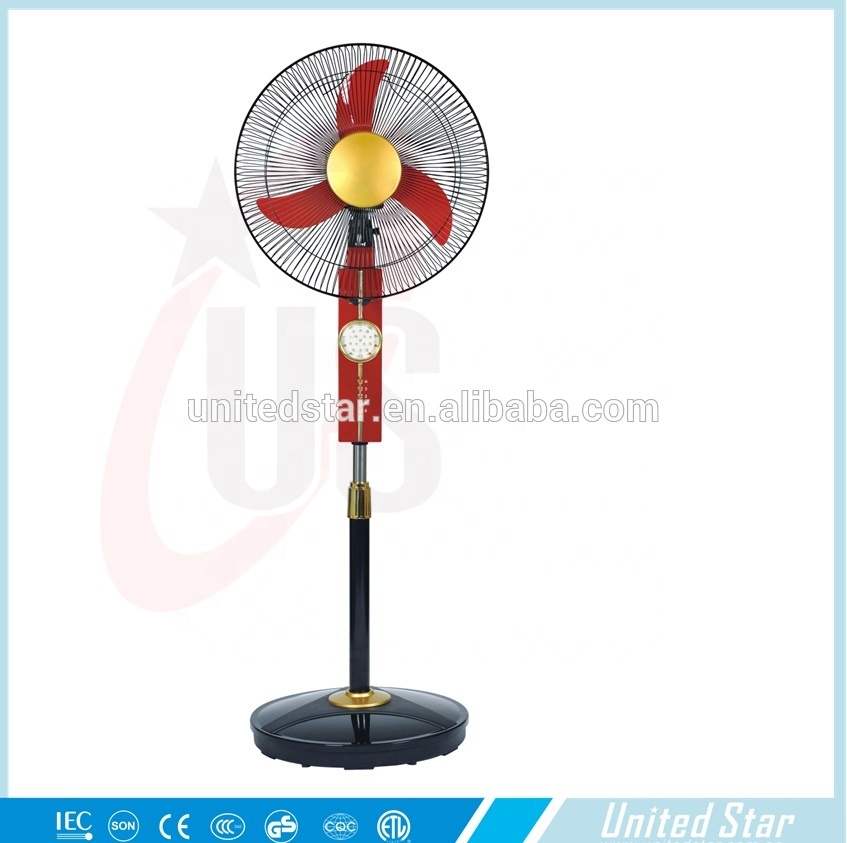 16 inch Rechargeable12V DC Solar Energy Stand Fan
