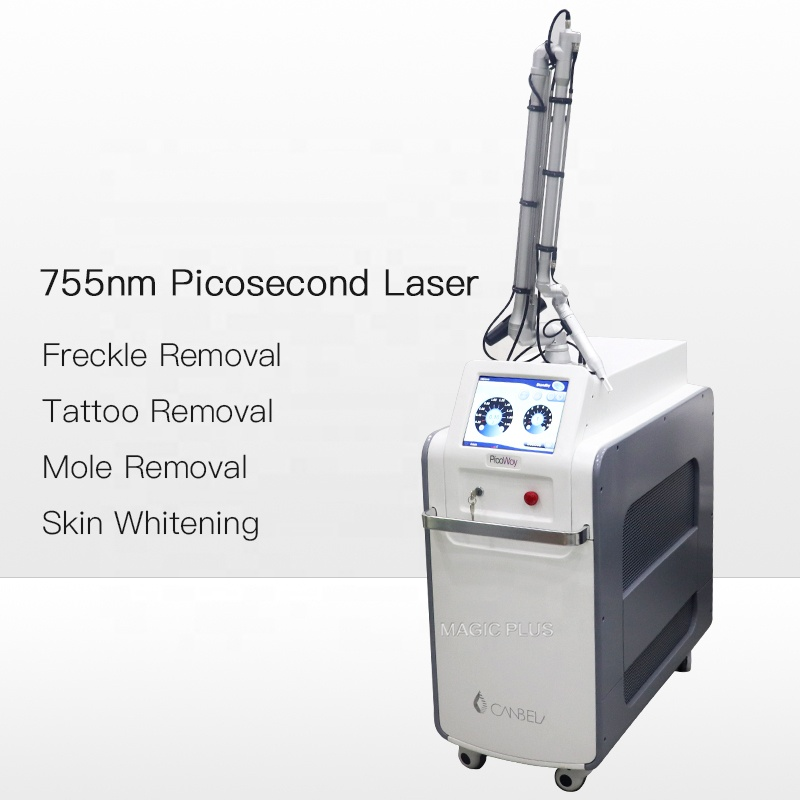Magic Plus Q Switched ND Yag Laser Anti Freckle Whitening Removal Freckle Beauty Instrument