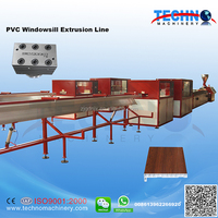 Automatic High Quality PVC Profile Machine to Make Windowsill with Long Service
