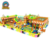 Children indoor playground equipment kids jumping naughty castle
