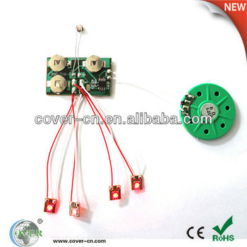 Voice ICs with LED Flashing Lights, LED Modules