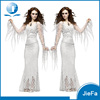 Wholesale Halloween Sexy Women Party Cosply Costumes White Lady Halloween Costume