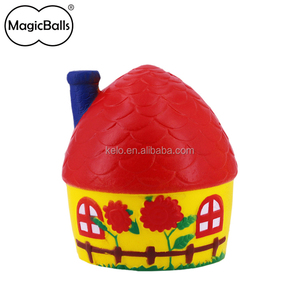 Hot sell House Shape Factory Price Soft Squishy Kawaii Slow Rising Foam Toys