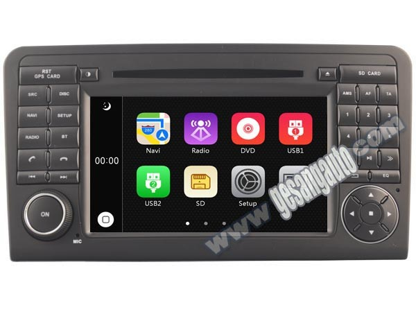 Android Auto Multimedia System Car Dvd Player With Gps Navigation System  For Mercedes Benz Ml320 Ml350 X164 - Buy Car Dvd Player With Gps,Car Dvd
