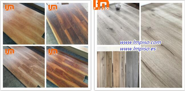 Fast delivery Class32 ac4 class 33 ac5 indoor high quality laminate parquet flooring pisos laminados