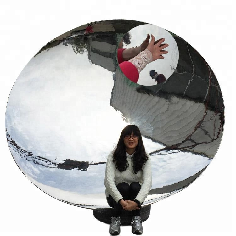 Anish Kapoor concave mirror polished contemporary sculpture stainless steel sculptures for outdoor