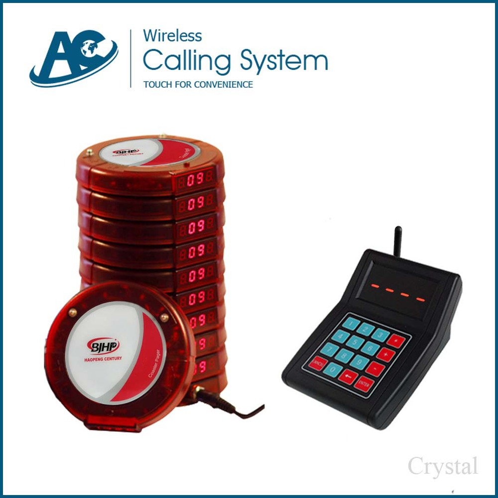 Wireless Paging System Cheap Restaurant Coaster Pager Manufacturer ...