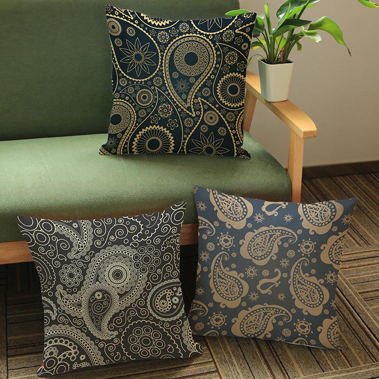 Europe America Classic retro Wall Stickers pattern print Car sofa seat cushion luxury home decoration cushion cushions pillow