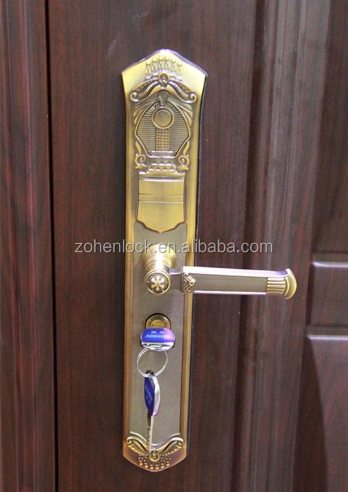 ZOHEN Copper Mechanical Door Lock & Zohen Copper Mechanical Door Lock - Buy Zohen Door Lock Product on ...