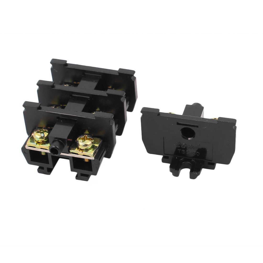 uxcell 4 Pcs TBC-30A 600V 30A Universal Terminal Block for Cable Connecting