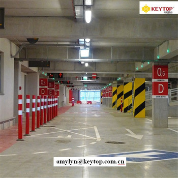 KEYTOP Parking Guidance System With Ultrasound Sensor For Managing Basement Lots In Shopping Malls