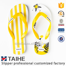 High Quality Factory Custom Printing Rubber Flip Flops Women Slipper