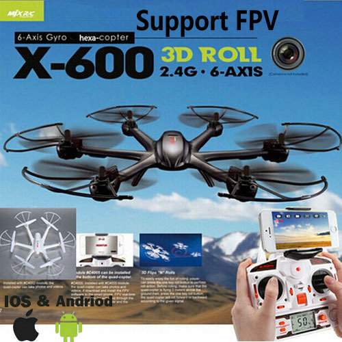 MJX X600 2.4G RC Quad Copter Drone Rc Helicopter 6-axis Can Add C4002&C4005