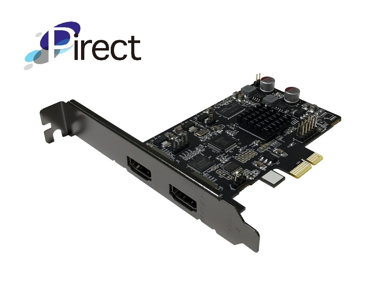H.264//AVI software encoding Pirect Uldra-P2 Video Capture card PCI-Express x1 with HDMI bypass output stream and record in 1080p30 Ultra low latency preview