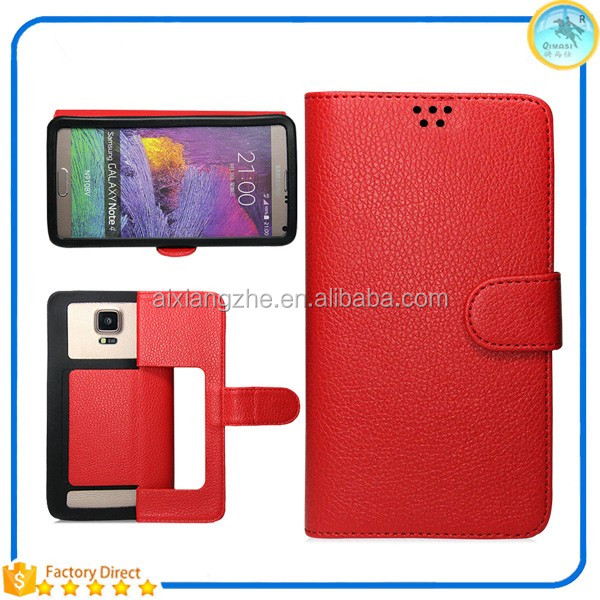 New Items In China Market PU Leather Phone Case For Korean Mobile Phone,Universe Book Cover For Alcatel one touch pop c1 4015x