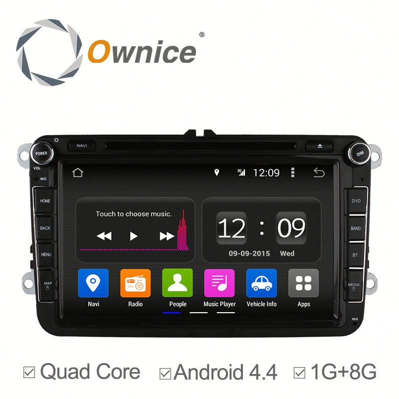 "8"" 4 core RK3188 android 4.4 up to 5.1 Multimedia player for VW Volkswagen Built in Canbus bluetooth"