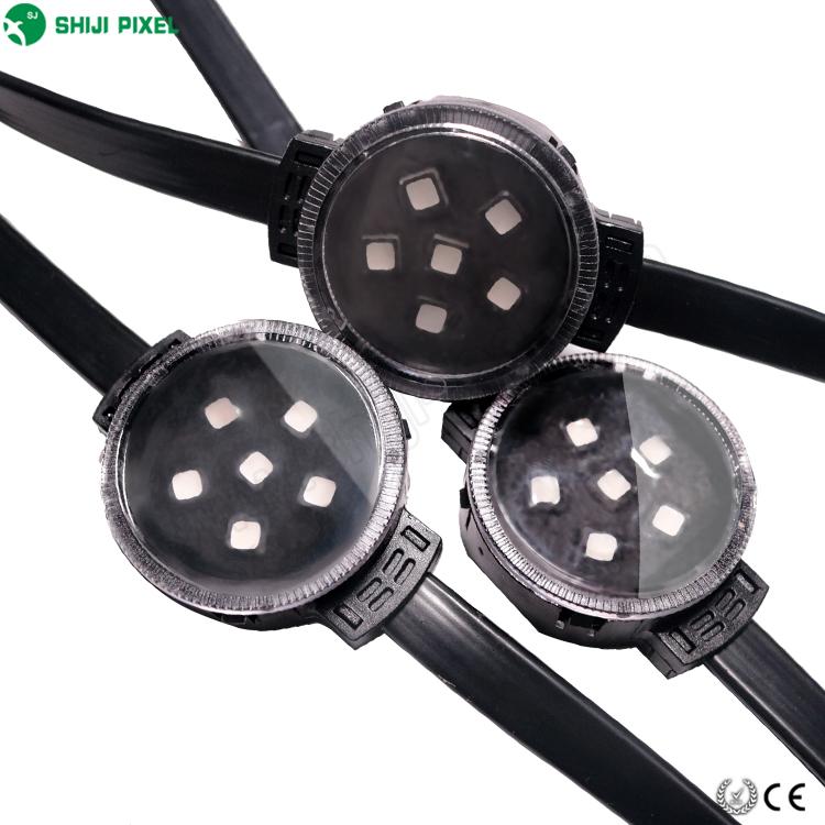 Trade Assurance IP67 24V 40mm 6leds UCS2903 SMD 5050 RGB Pixel Led Module Facade Lighting