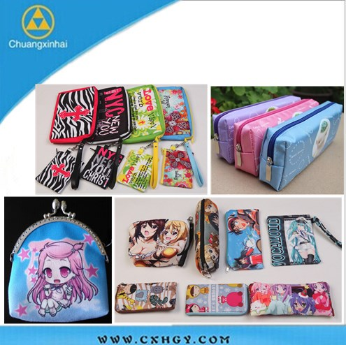 new design sublimation printing Cosmetic Makeup Tool Bag