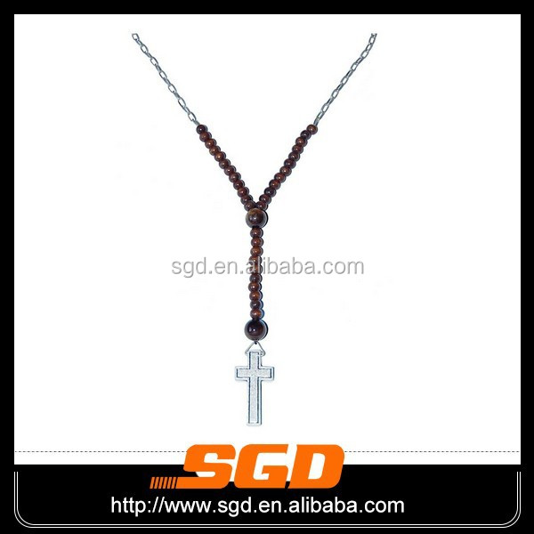 2015 hot selling 316L stainless steel ceramic rosary