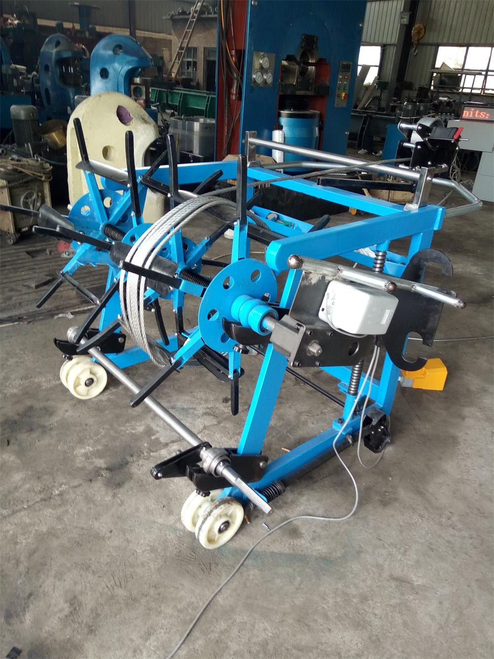 Hotsell Wire Rope Spooling Machine - Buy Wire Rope Coiling Machine ...