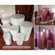 LDJ1010 roman pillars column colorful wedding metal flower stand pillar for wedding party occassion